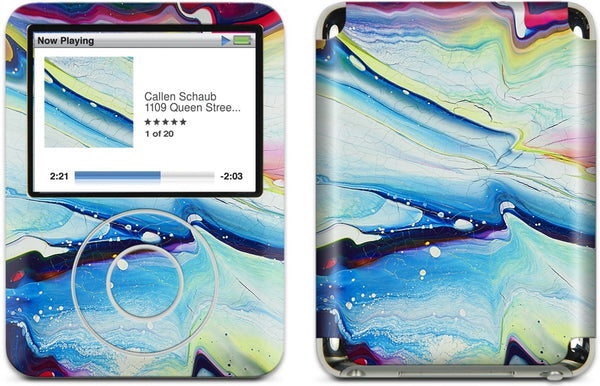 Evanescent Wave iPod Skin