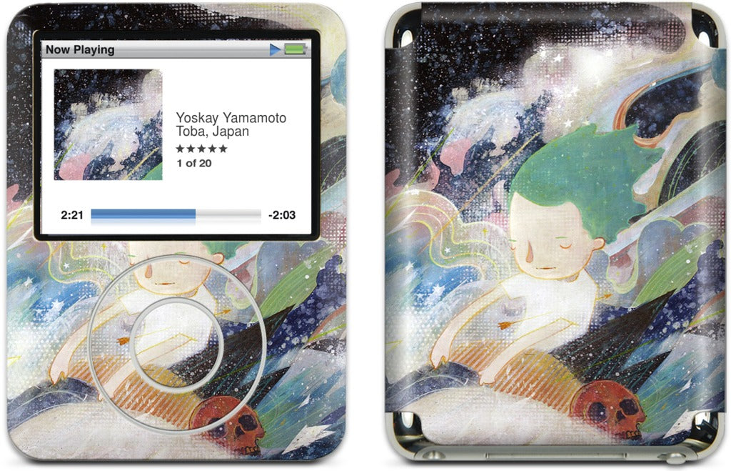 Carry Me Away iPod Skin