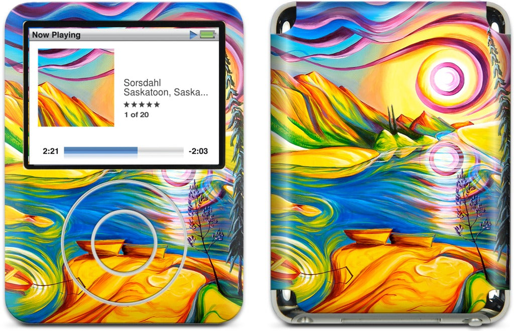 Spirit Of Medicine Lake iPod Skin