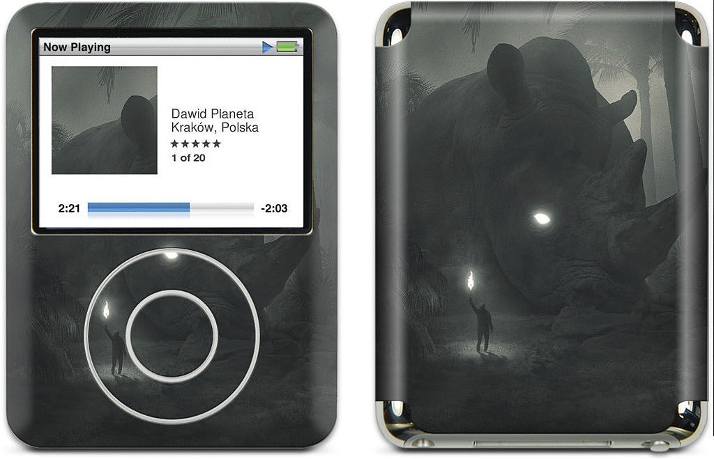 Face of Fear iPod Skin