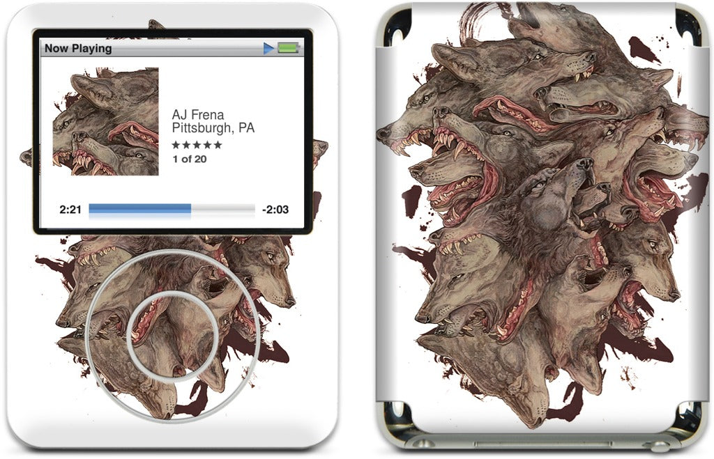 Scream iPod Skin