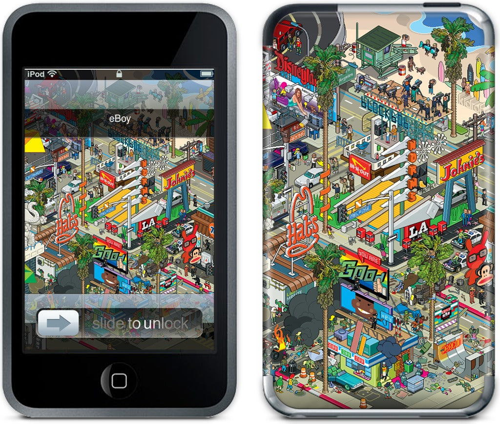 Los Angeles iPod Skin