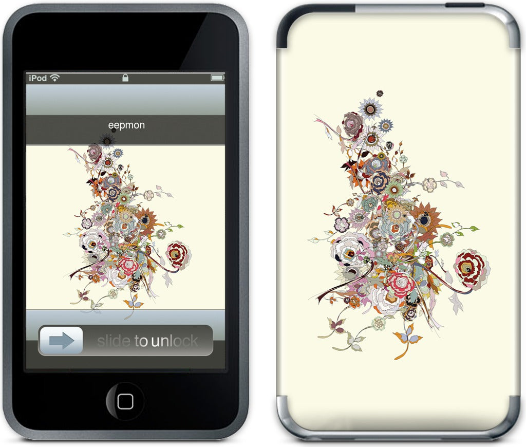 Chaos Bloom Spring Irritation iPod Skin