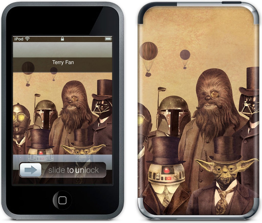 Edwardian Wars iPod Skin