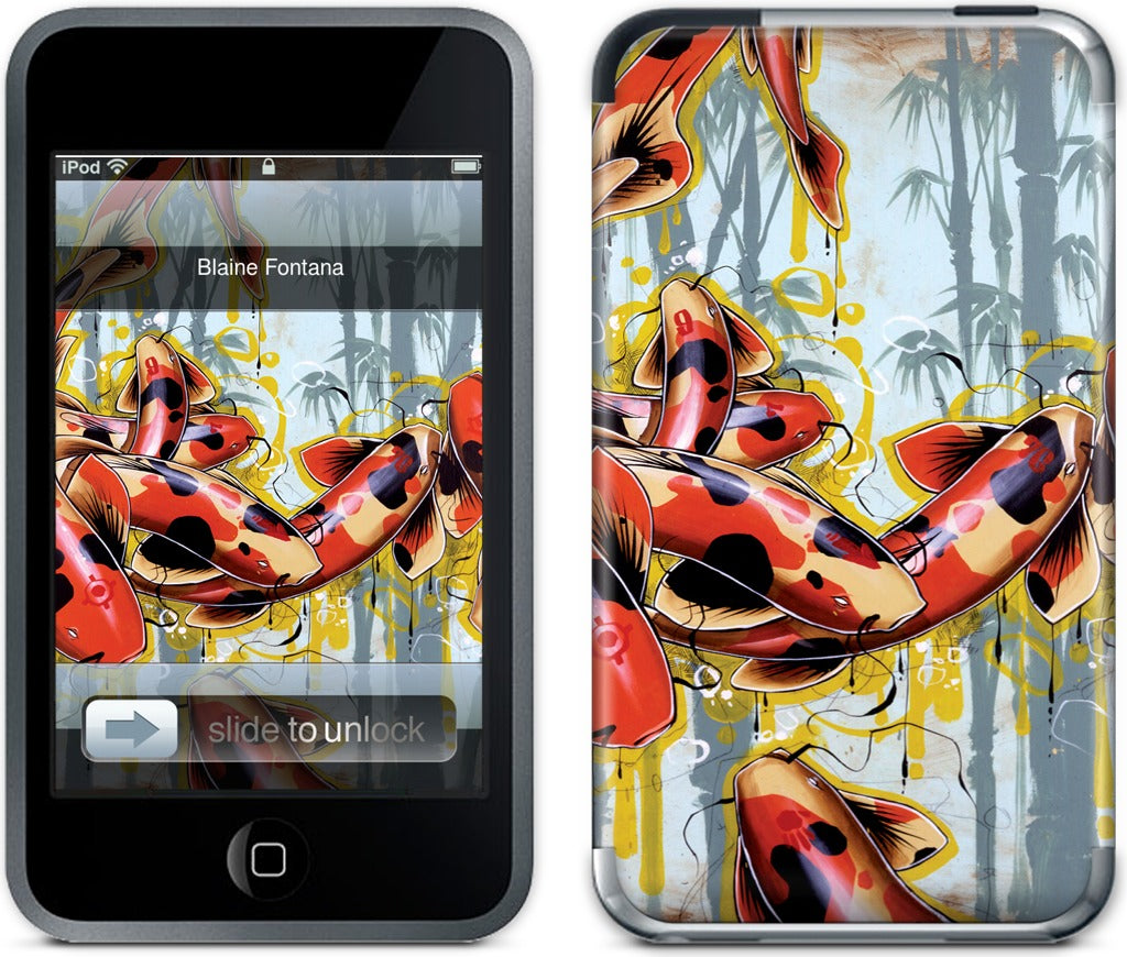 Acclimated Koi iPod Skin