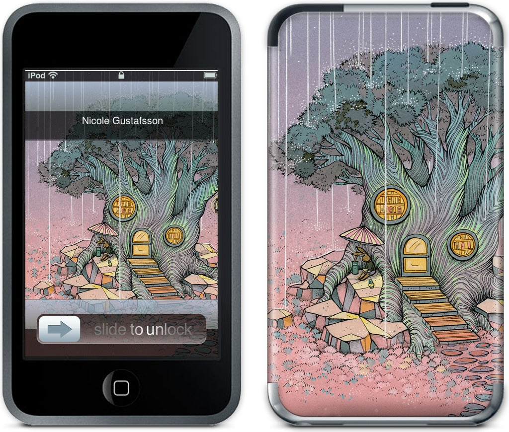 Rainy Day In The Library iPod Skin