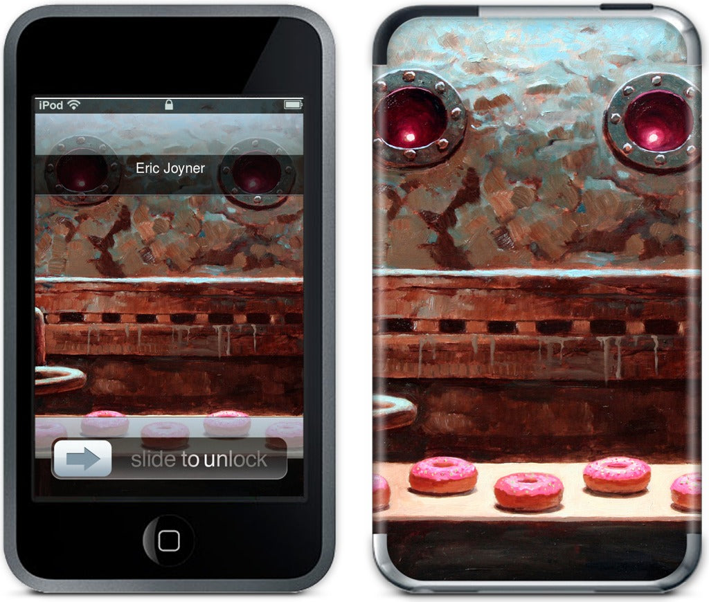 Pink Frosting iPod Skin