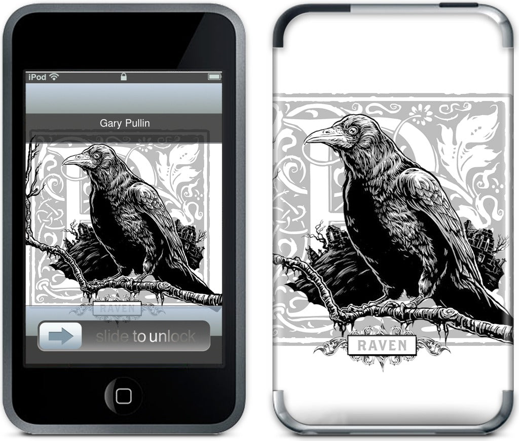R Is For Raven iPod Skin