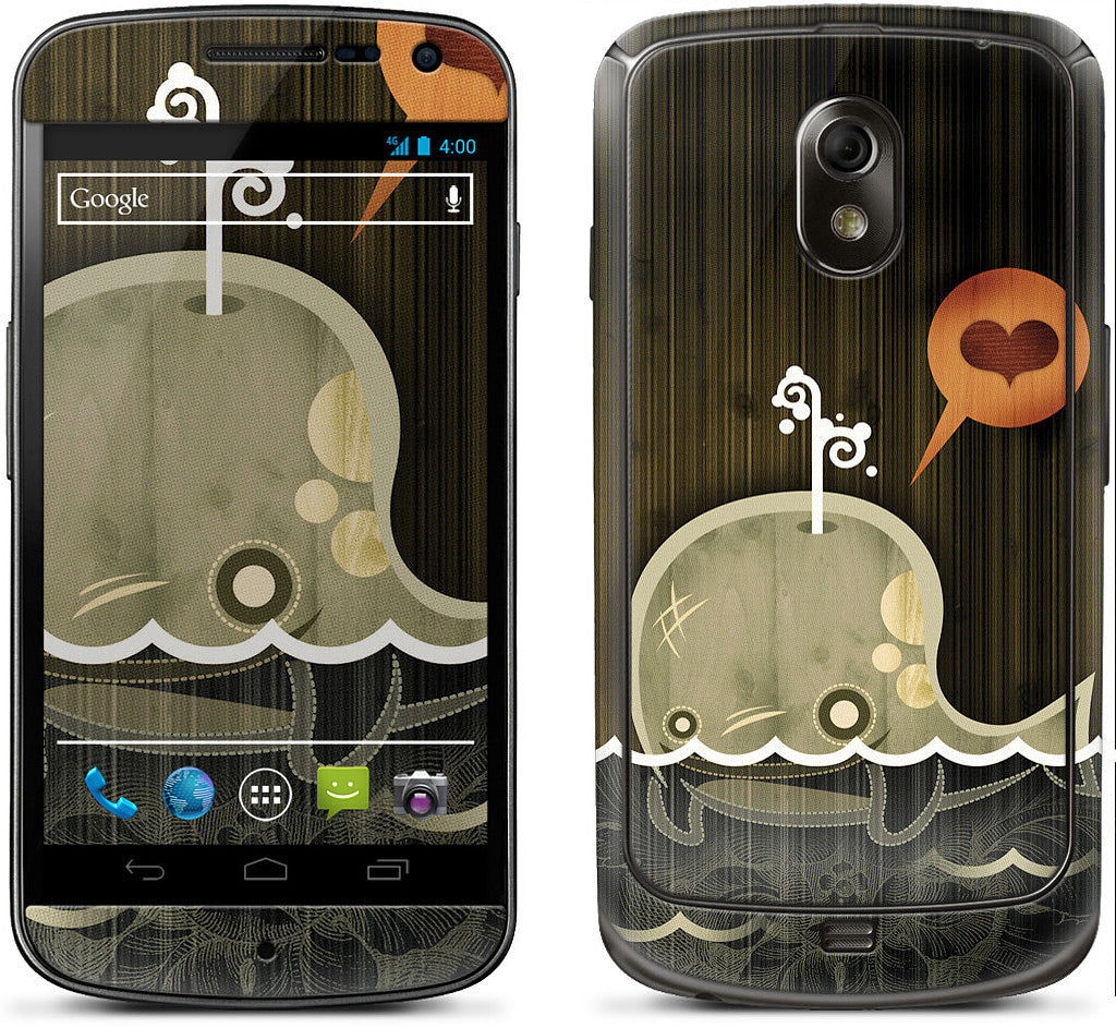 The Enamored Whale Samsung Skin