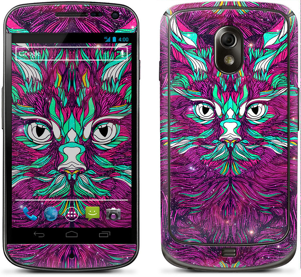 Space Cat Samsung Skin