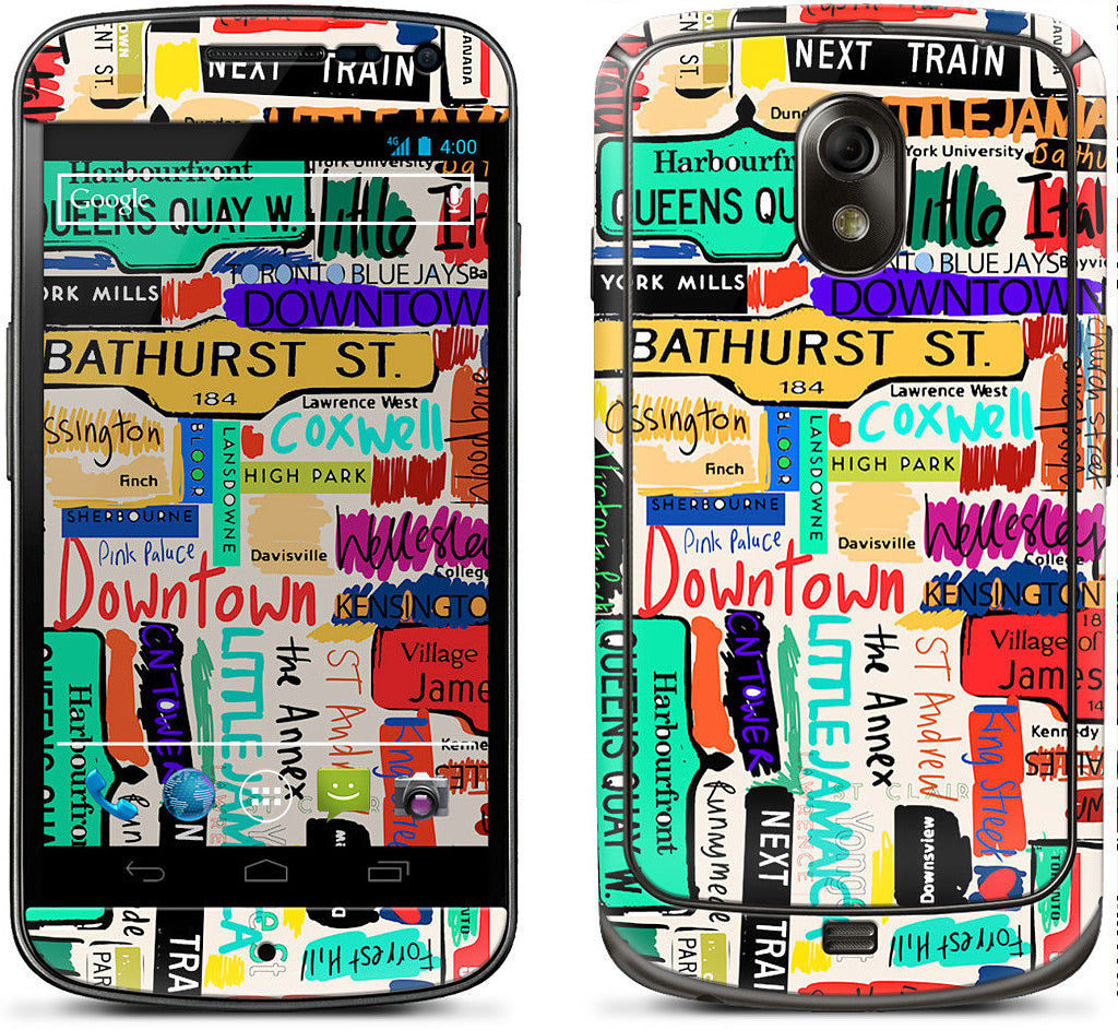 Toronto words Samsung Skin