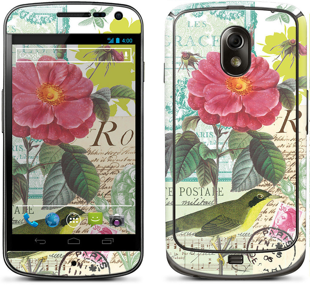 Flora and Fauna Samsung Skin