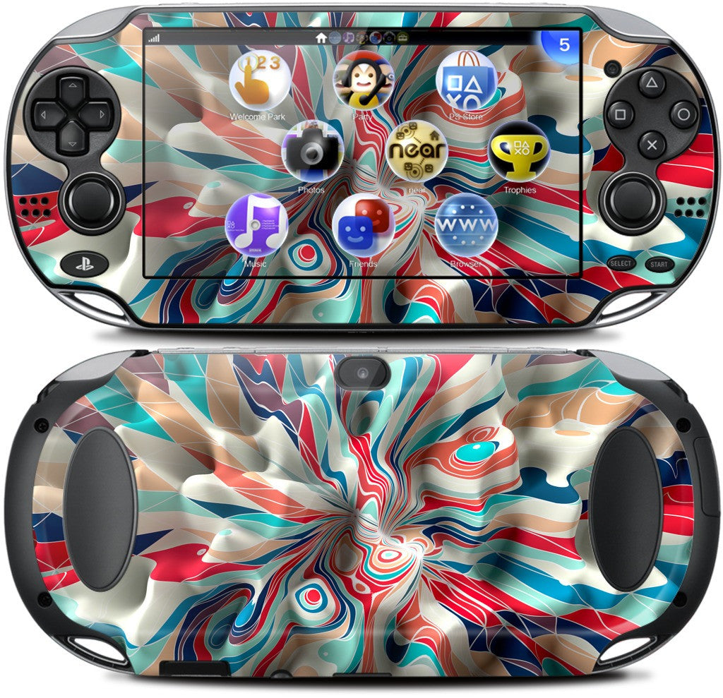 Weird Surface PlayStation Skin