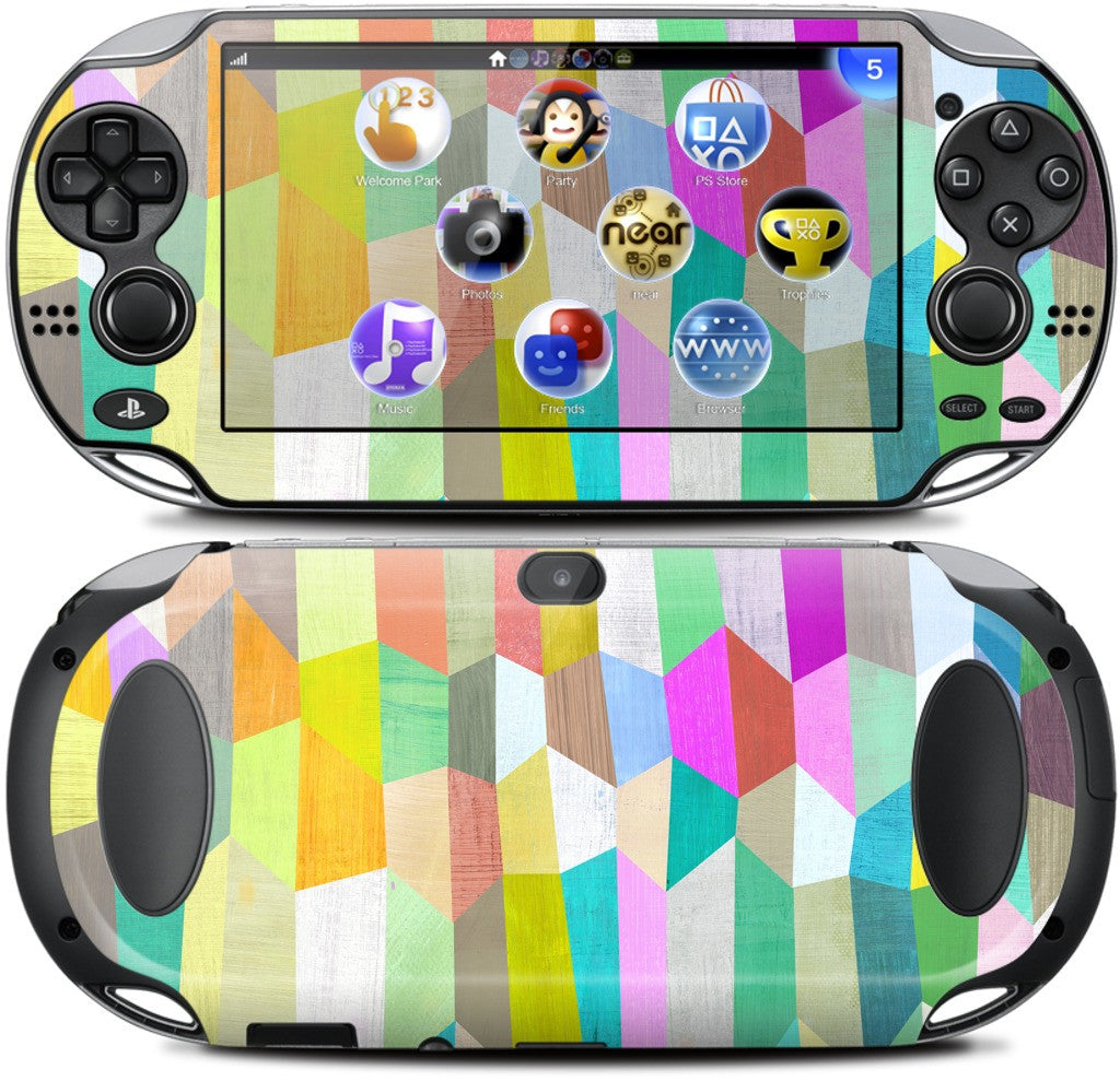 Trapezoid Love PlayStation Skin