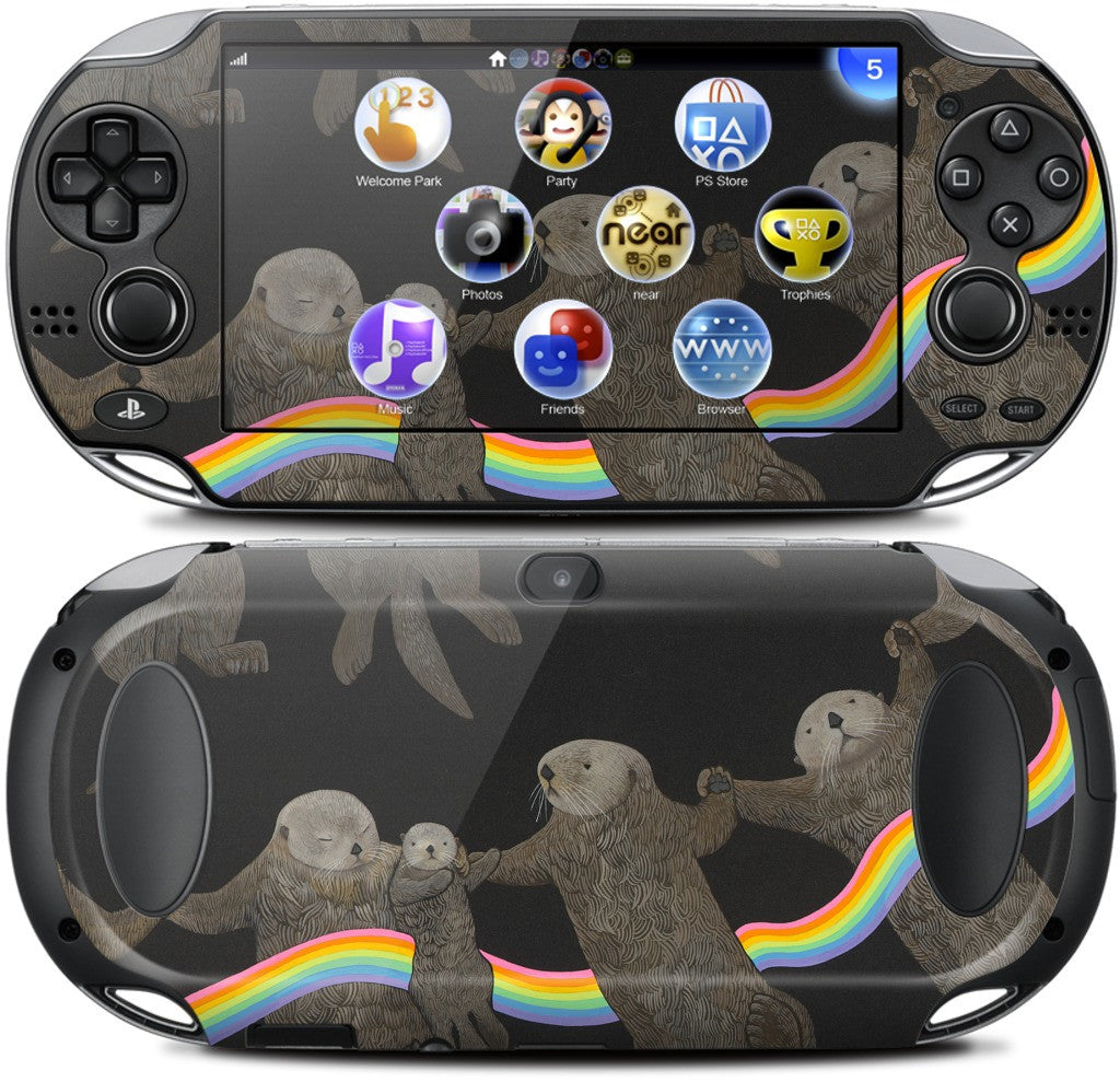 Otter Rings PlayStation Skin