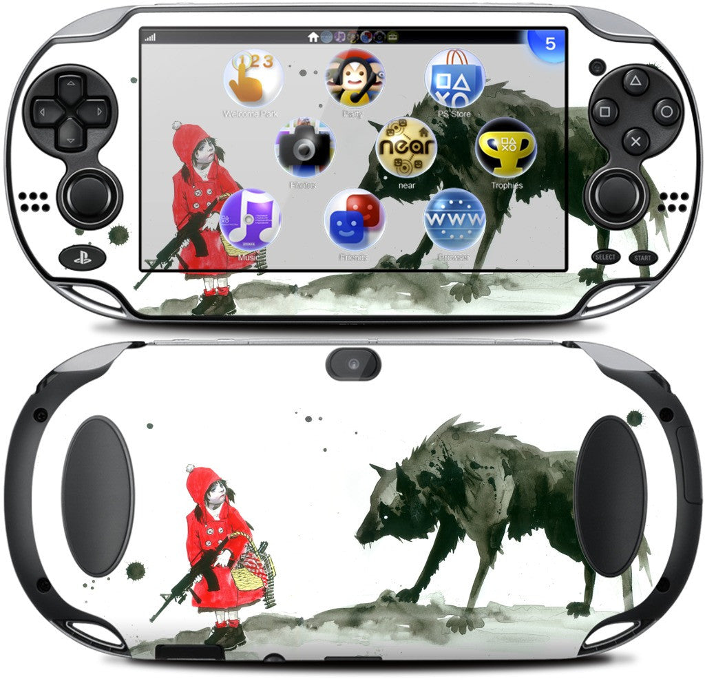 Red Riding Hood PlayStation Skin