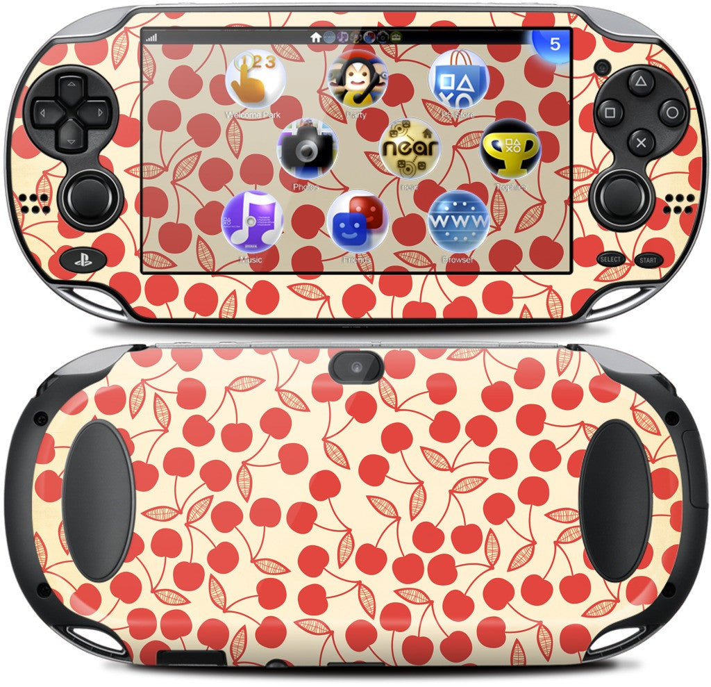 Cherry Pie PlayStation Skin