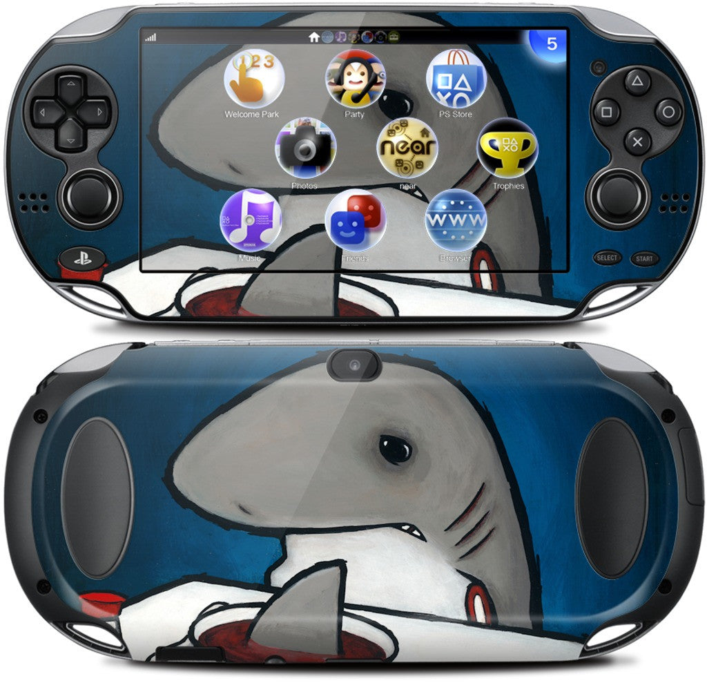 You Are What You Eat Shark Fin PlayStation Skin