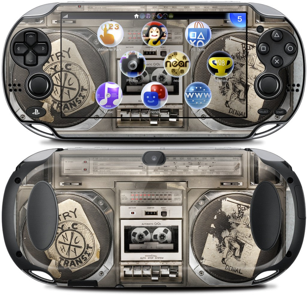 Boombox II PlayStation Skin