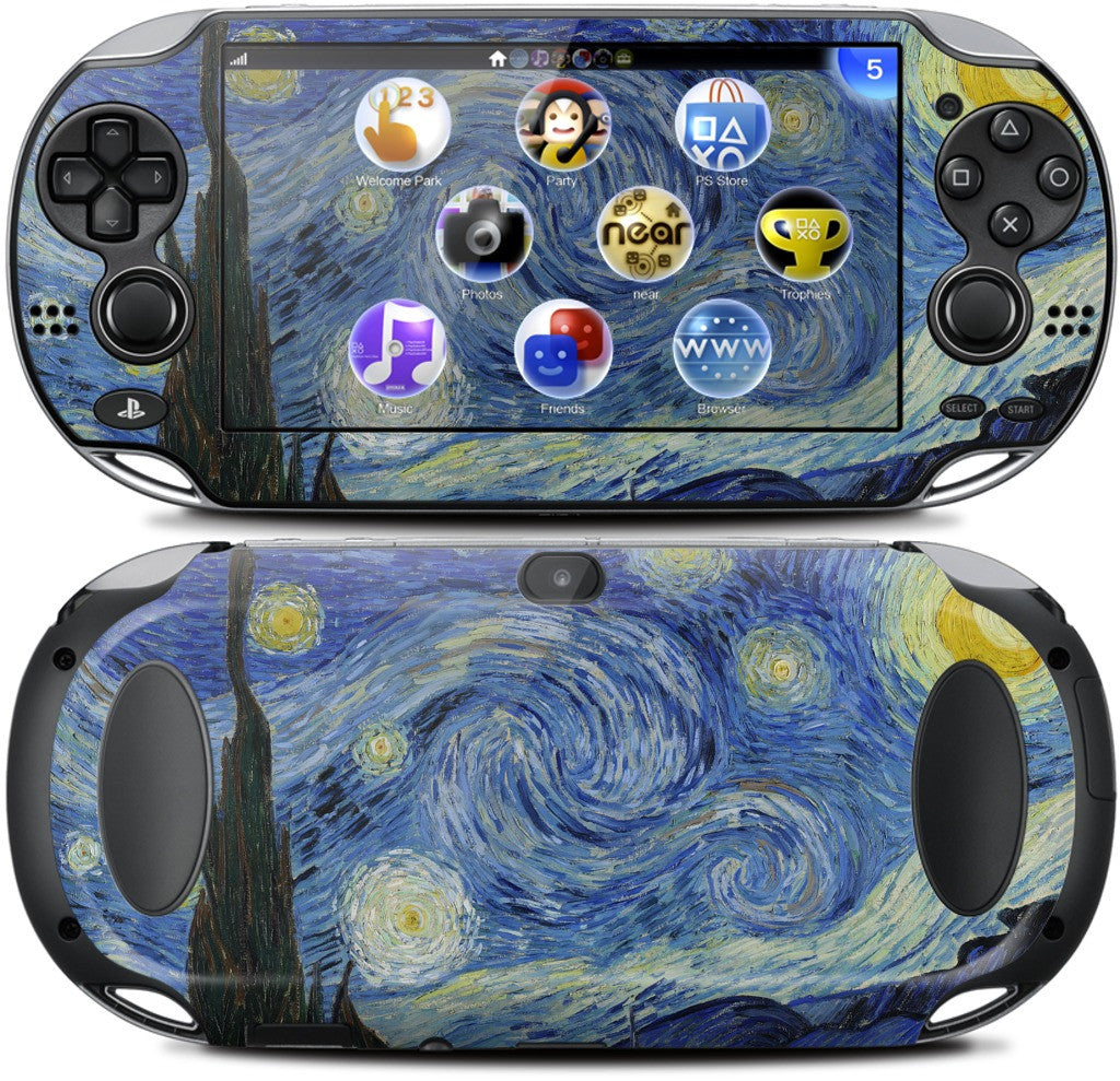 Starry Night PlayStation Skin