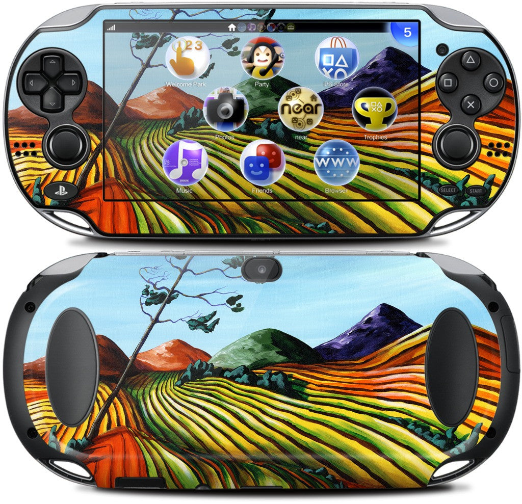 Windswept Fields PlayStation Skin