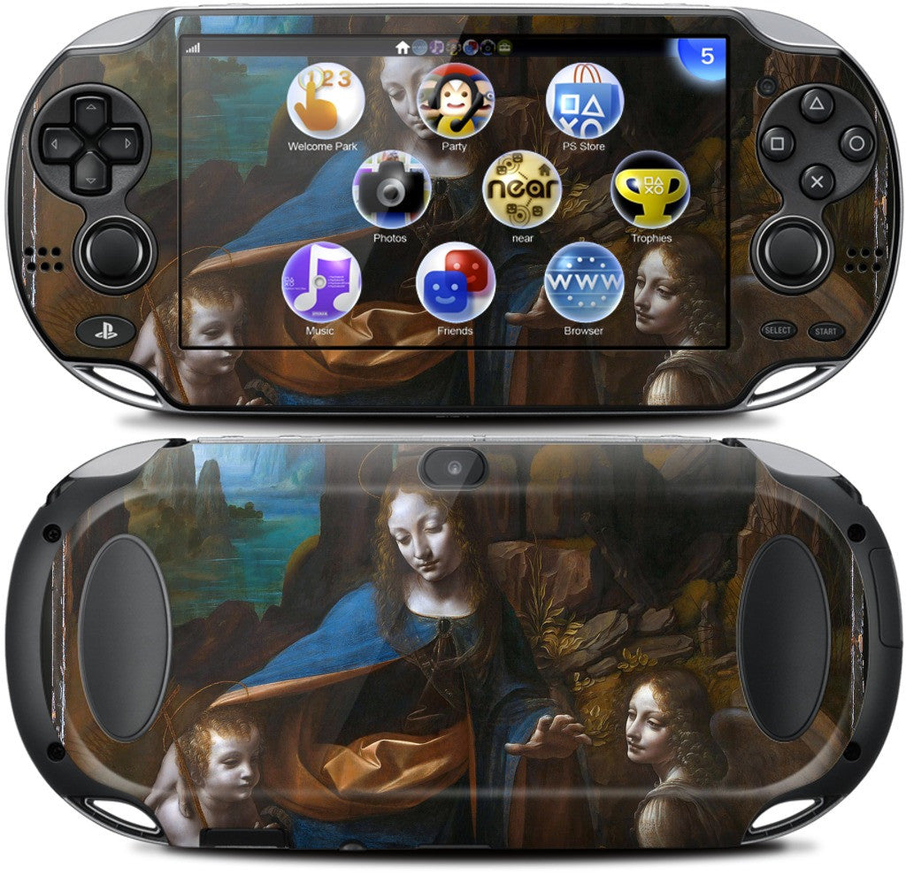 Virgin of the Rocks PlayStation Skin