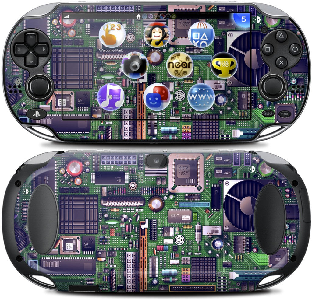 Motherboard PlayStation Skin