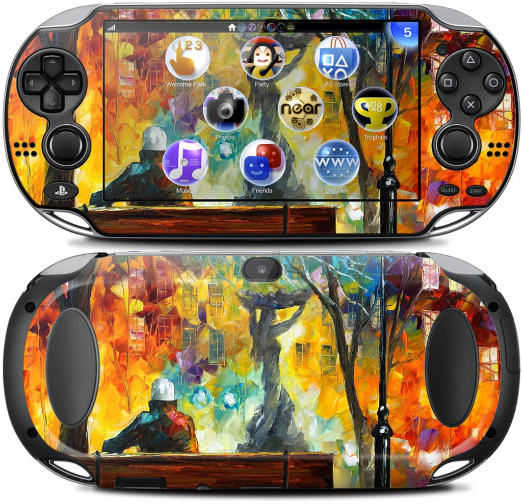 SLEEPLESSNESS by Leonid Afremov PlayStation Skin