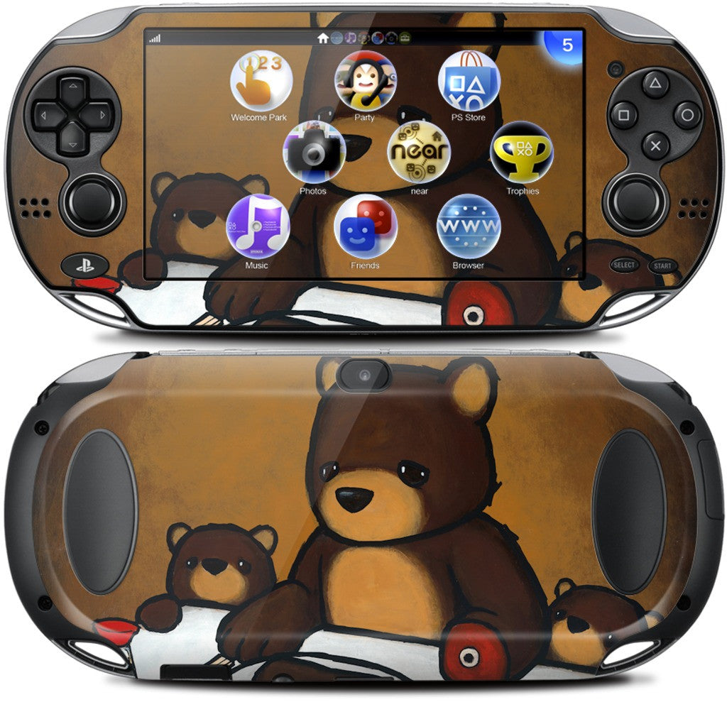 You Are What You Eat Bear Paw PlayStation Skin