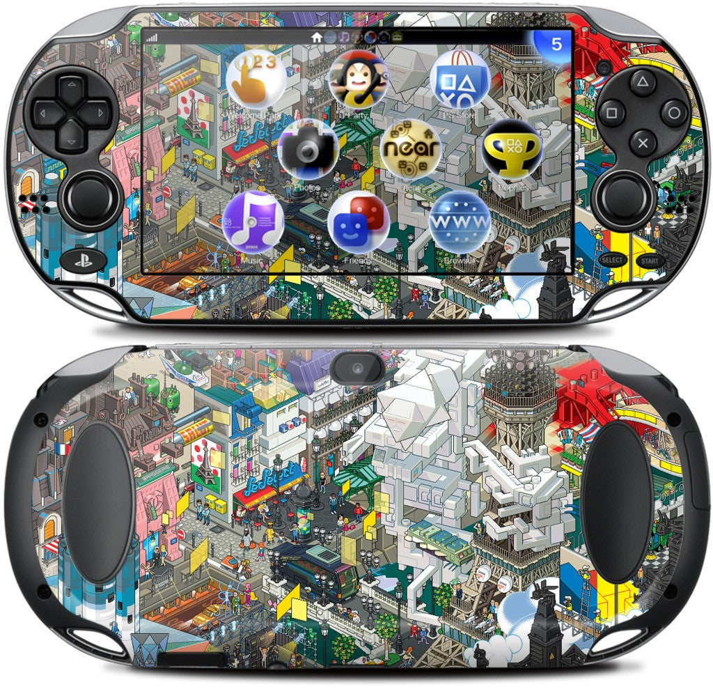 Paris PlayStation Skin