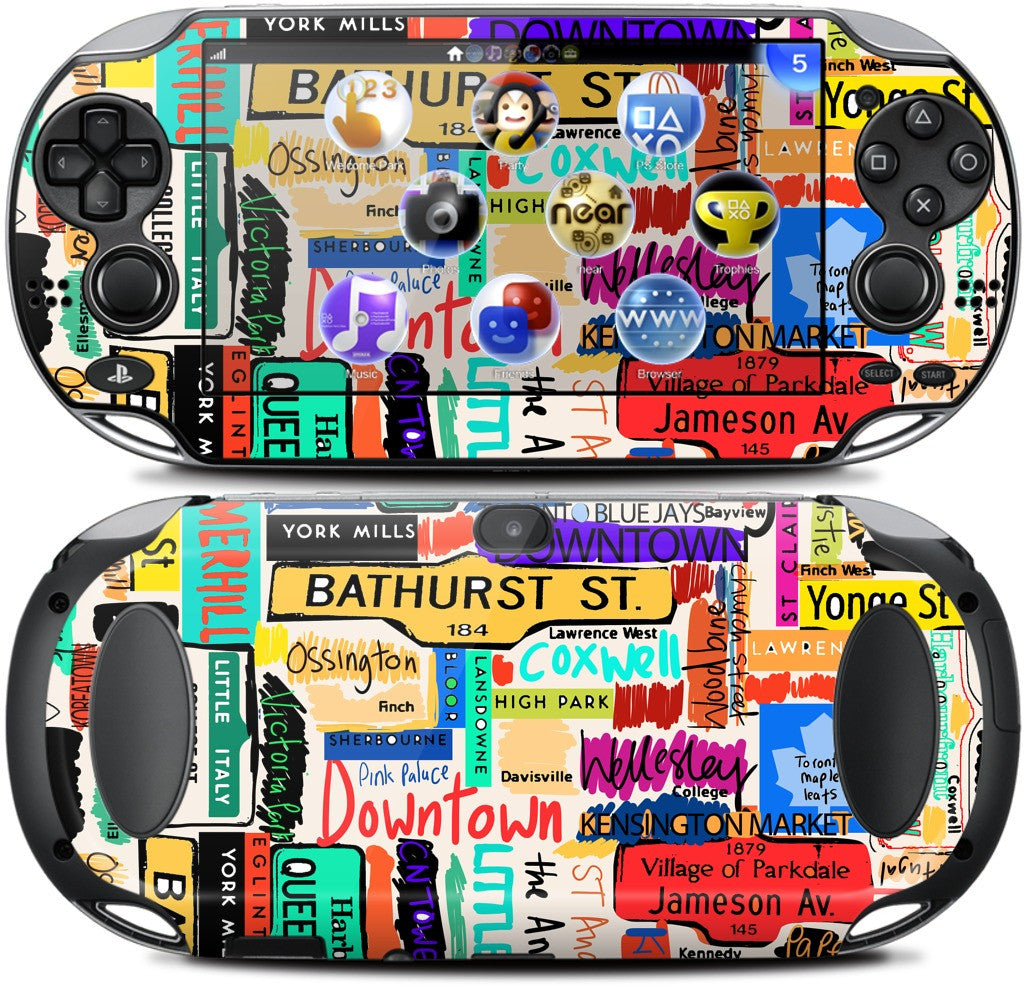 Toronto words PlayStation Skin