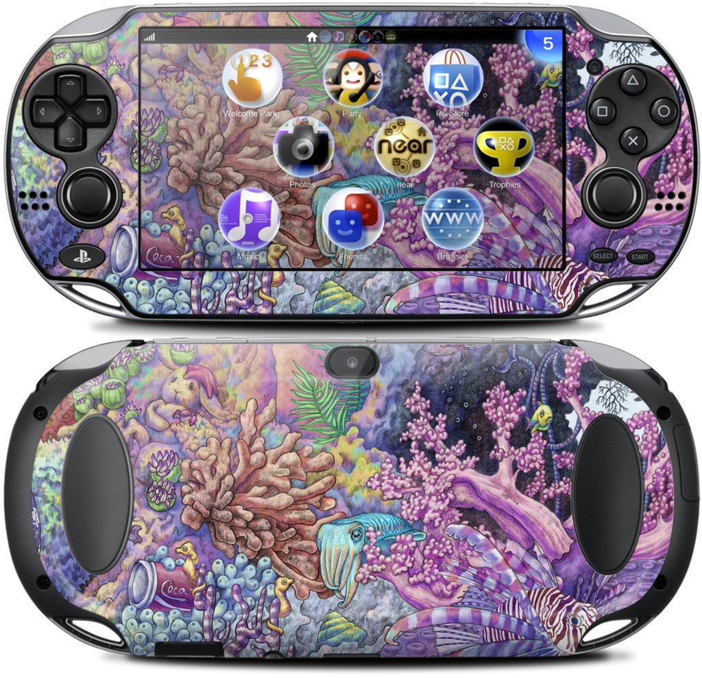 Underwonderland PlayStation Skin