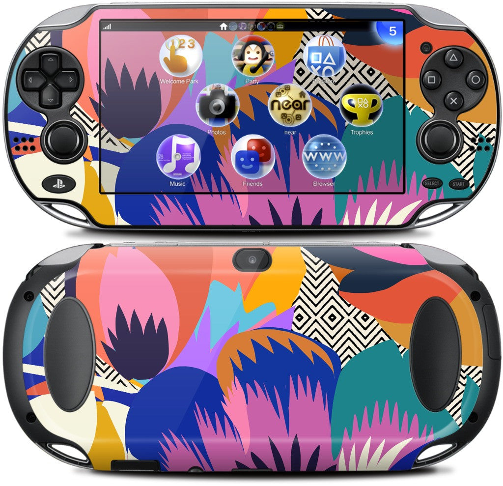 Among the Spring Flowers PlayStation Skin