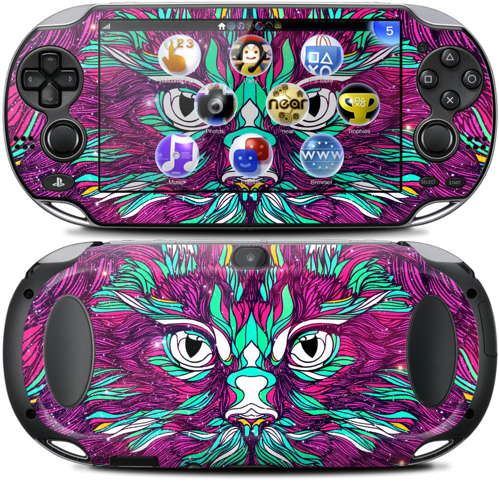 Space Cat PlayStation Skin