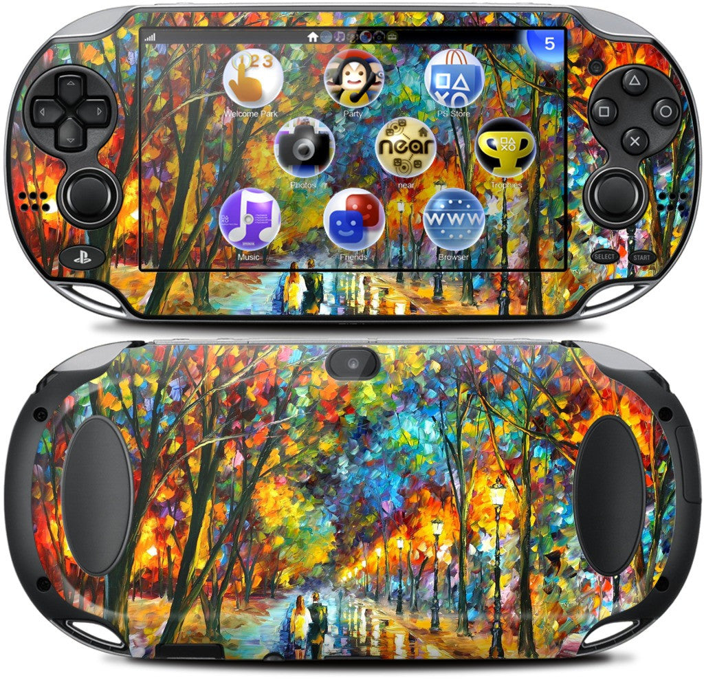 WHEN DREAMS COME TRUE by Leonid Afremov PlayStation Skin