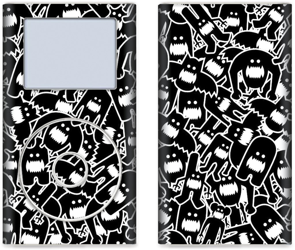 Monster Collage 2 iPod Skin