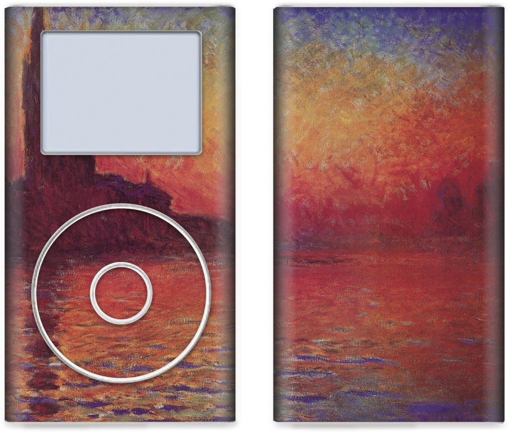 Sunset in Venice iPod Skin