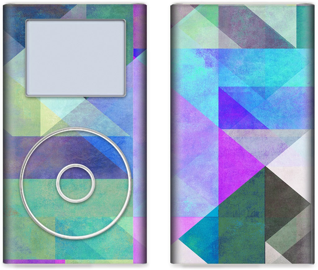 Color Blocking 5 iPod Skin