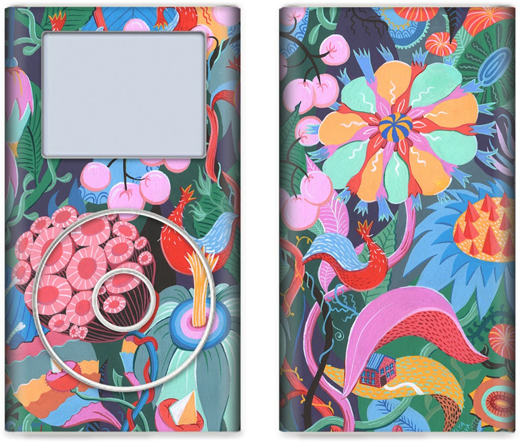 Hidden House iPod Skin