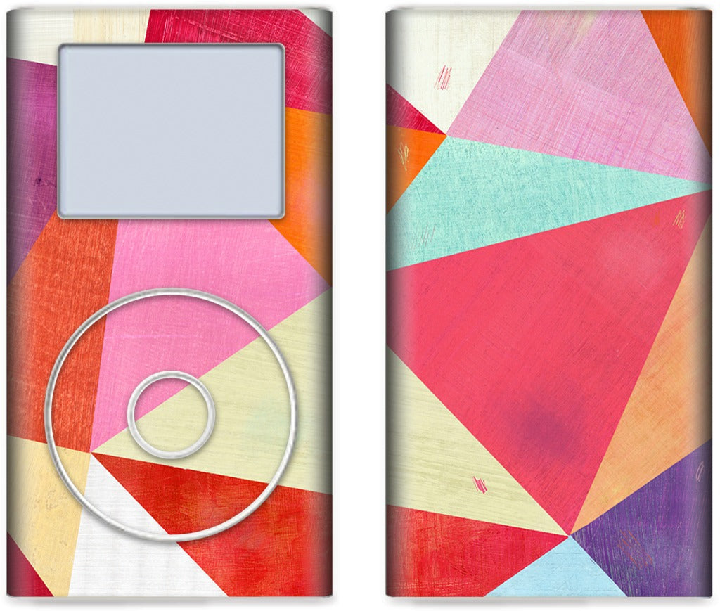 Pink Triangle iPod Skin