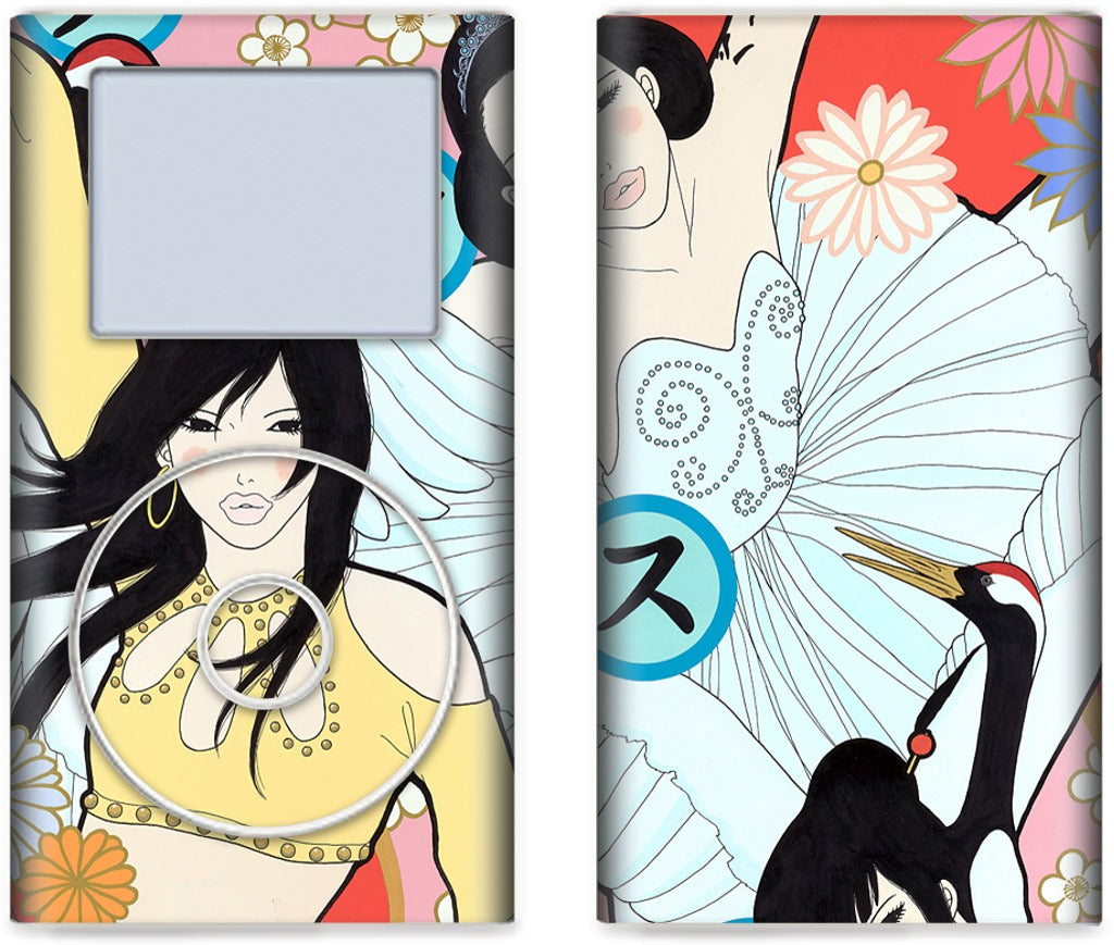 Crazy for Dance iPod Skin