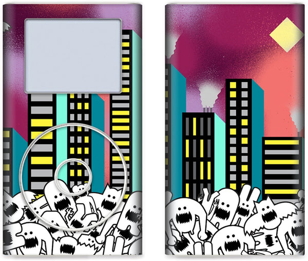 City Nights iPod Skin