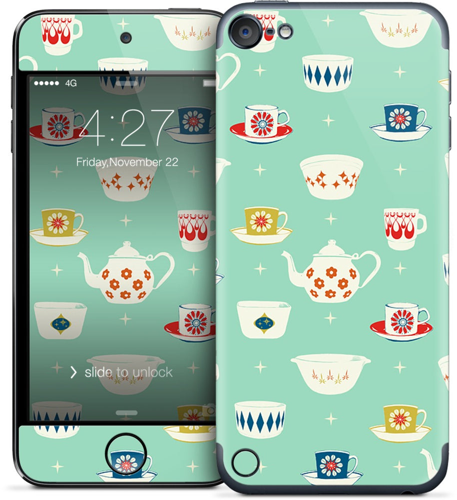 Happy Dishes iPod Skin