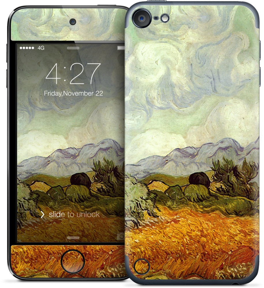 A Wheatfield with Cypresses iPod Skin