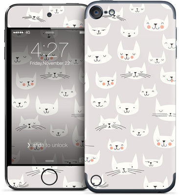 Cat Faces iPod Skin