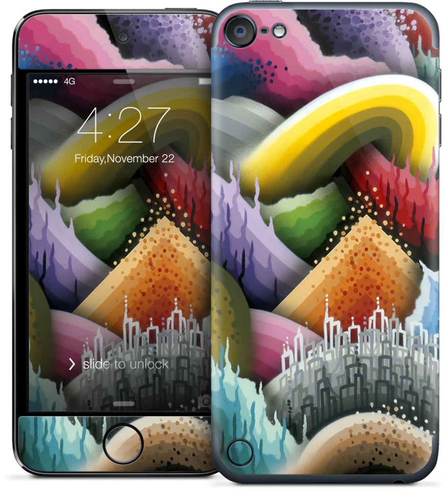 Fabricated Fantasies iPod Skin