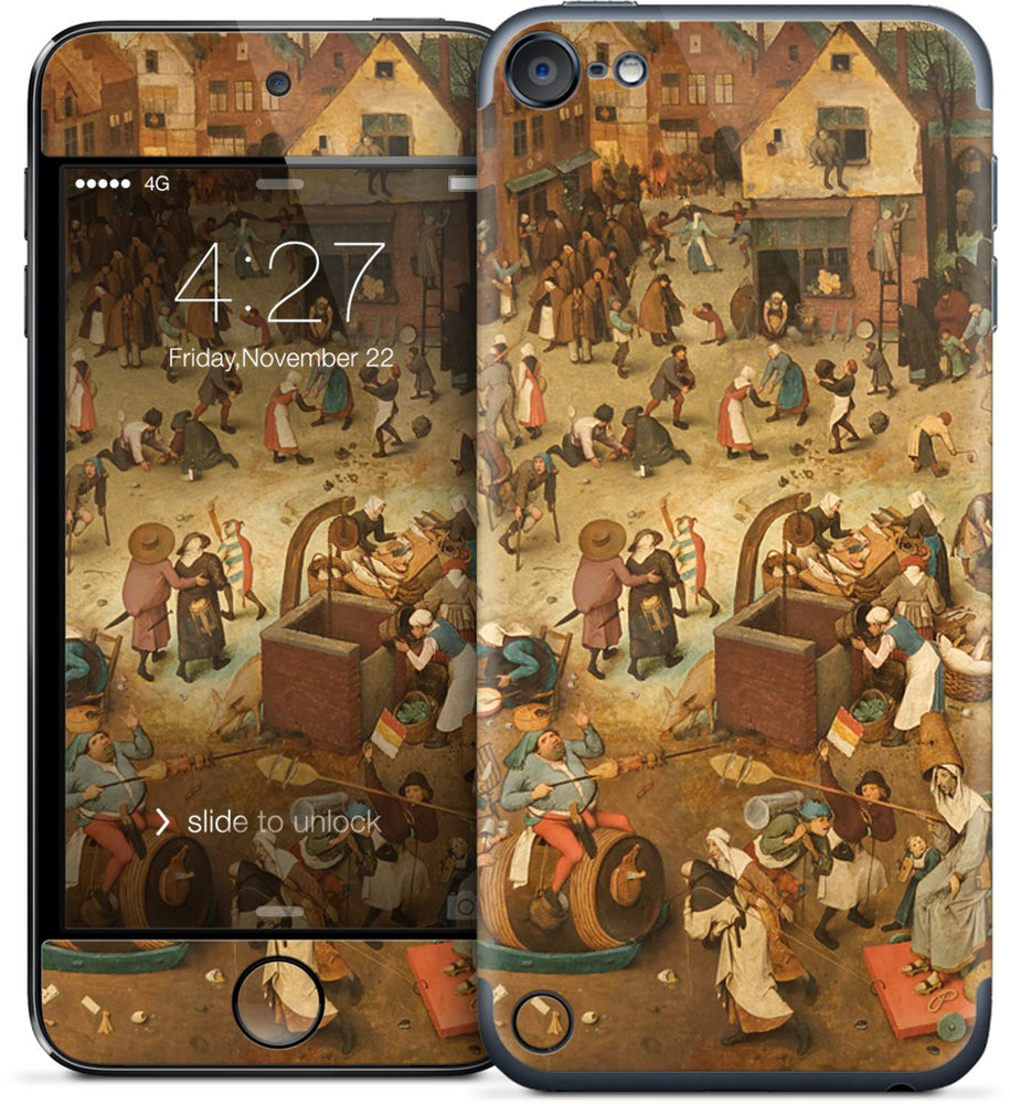The Fight Between Carnival and Lent iPod Skin