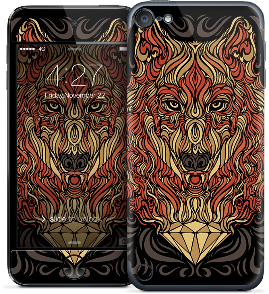 The Lone Wolf iPod Skin