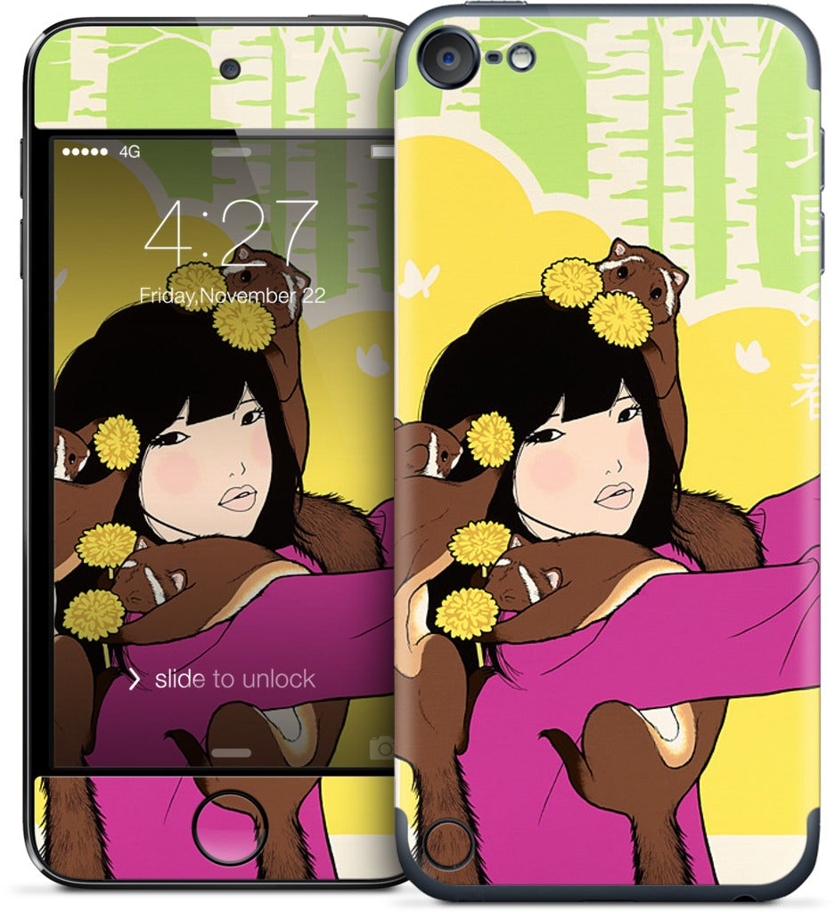 Spring in North Country iPod Skin