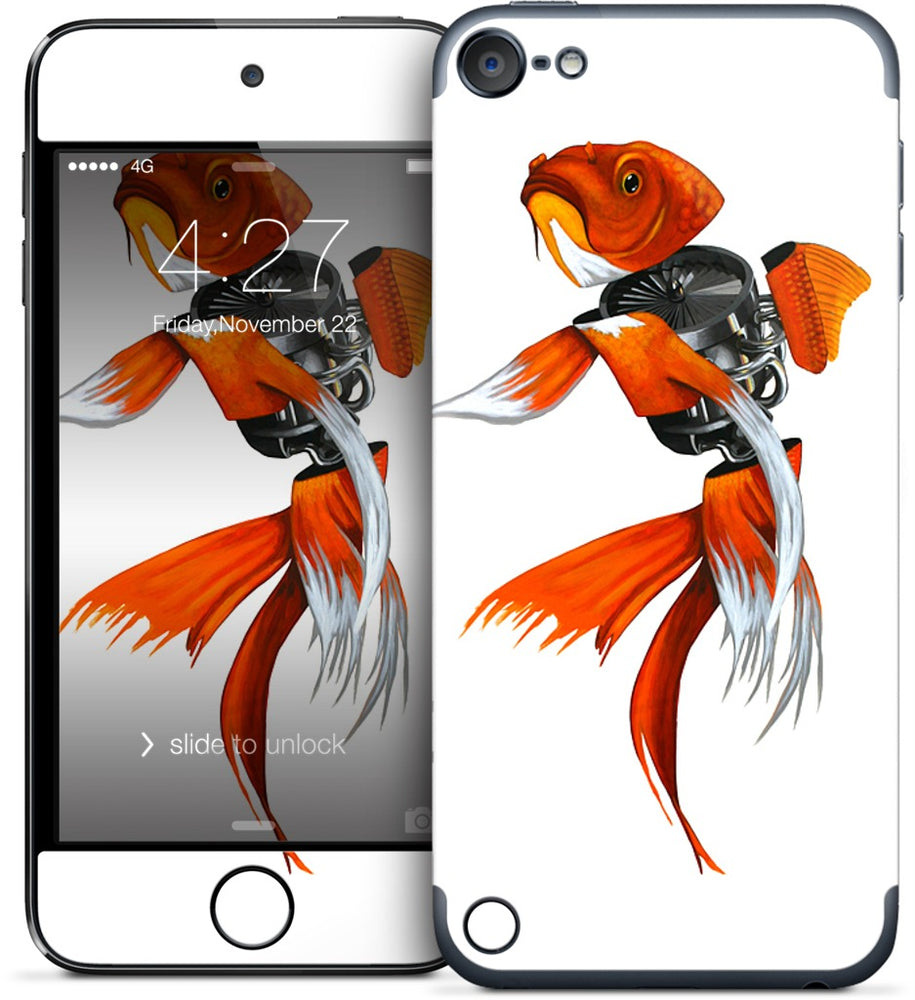 Gold Fish iPod Skin